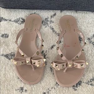 Valentino Bow Rockstud Sandals 35